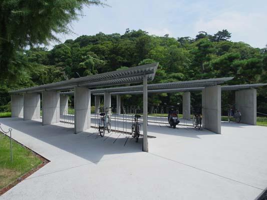 島根県立図書館駐輪場